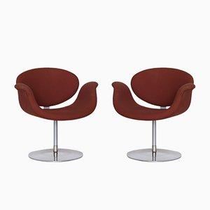 Little Tulip Beistellstühle von Pierre Paulin für Artifort, 1960er, 2er Set