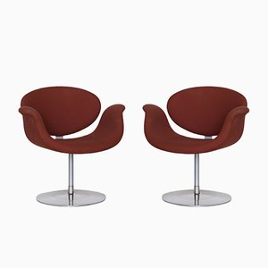 Little Tulip Side Chairs by Pierre Paulin for Artifort, 1960s, Set of 2
