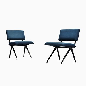 Industrial Dutch Easy Chairs by Ynske Kooistra for Marko, 1960s, Set of 2