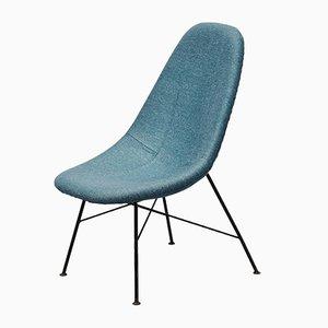 Tschechischer Stuhl mit Hoher Rückenlehne von Miroslav Navratil, 1950er