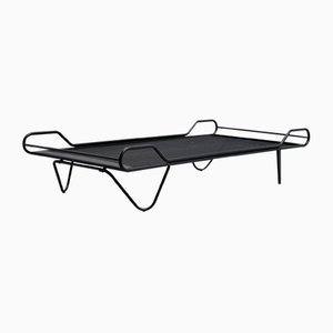 French Sculptural Daybed in the Style of Jacques Hitier, Pierre Guariche, Mathieu Mategot, 1950s