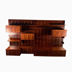 German Rosewood Modular Wall Units from IDEE Mobel, Pesch, 1960s, Set of 27