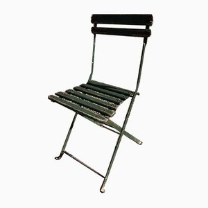 Antique Folding Chairs, 1900s, Set of 4