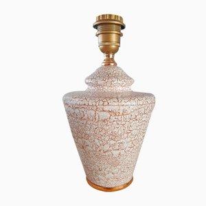 Mid-Century Keramik Tischlampe, 1960er