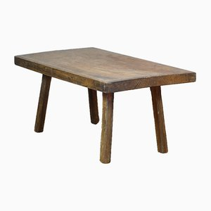 Vintage Oak Butchers Table, 1930s