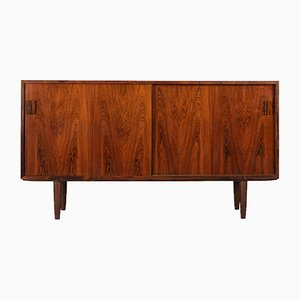 Mid-Century Rosewood Sideboard with Sliding Doors from DR Mobler, 1960s