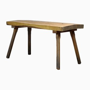 Vintage Oak Butchers Table, 1960s