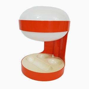 Mid-Century Orange Model KD 29 Table Lamp by Joe Colombo for Kartell