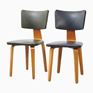 Esszimmerstühle von Cor Alons für Den Boer, 1950er, 6er Set
