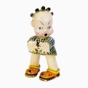 Italienische Puppen Skulptur, 1940er