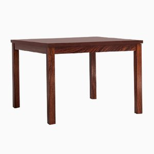 Danish Square Rosewood Side Table, 1960s