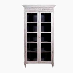 19th Century Gustavian Style Bookcase with Glass