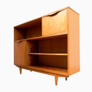 Mid-Century Teak Bookcase Shelving Unit by Sutcliffe of Todmorden
