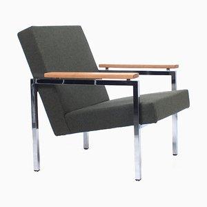 Armchair by Gijs van der Sluis for Van der Sluis Stalen Meubelen, The Netherlands, 1960s