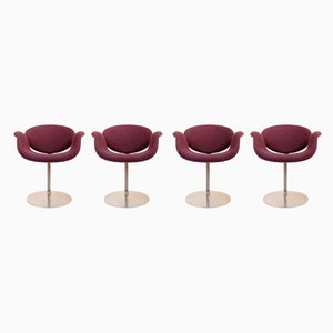 Small Tulip Chairs by Pierre Paulin for Artifort, 1970s, Set of 4