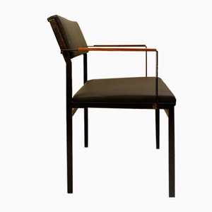 FM17 Japanese Series Faux Leather Chair by Cees Braakman for Pastoe, 1950s