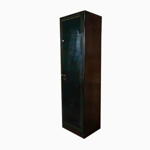 Vintage Industrial Tall Metal Cupboard