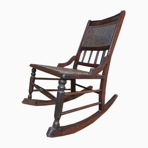 Antique vintage English Rocking Chair, 1800s