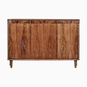 Mid-Century Scandinavian Modern Walnut Sideboard