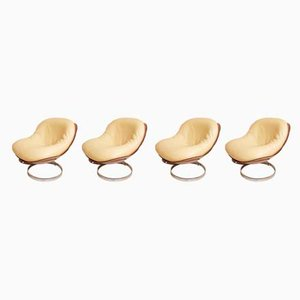 Sphere Lounge Chairs by Boris Tabacoff, 1970s, Set of 4