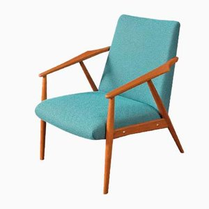 Teak Lounge Chair, 1950s