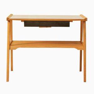 Beech Side Table, 1950s