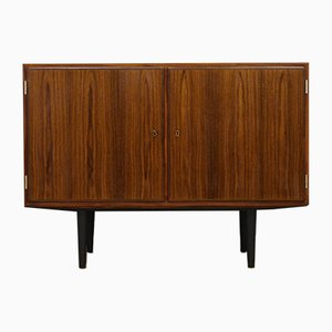 Danish Rosewood Veneer Cabinet by Carlo Jensen for Hundevad & Co., 1960s
