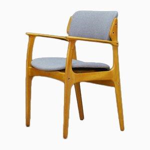 Armchair by Erik Buch for Oddense Maskinsnedkeri / O.D. Møbler, 1960s