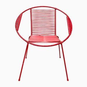 Italienische Kinderstühle aus Eisen & Kunststoff, 1950er, 2er Set