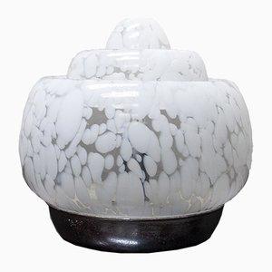Murano Glas Tischlampe von Mazzega, Italien, 1970er