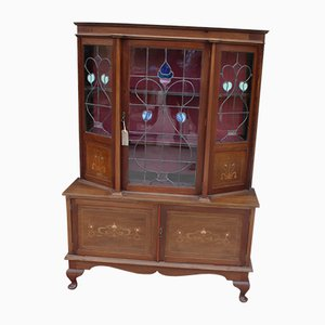 Large Arts and Craft Mahogany Cabinet, 1930s