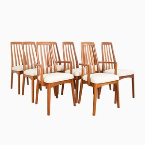 Mid-Century Teak Dining Chairs by Benny Linden, 1970s, Set of 8