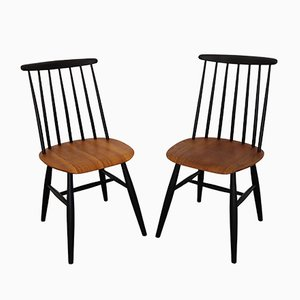 Mid-Century Dining Chairs by Ilmari Tapiovaara, 1960s, Set of 2