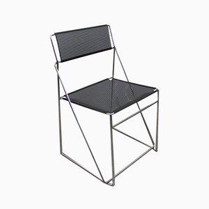 Italian Side Chairs by Niels Jorgen Haugesen for X-Line, 1970s, Set of 3