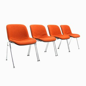 Side Chairs from Houtoku, 1970s, Set of 4