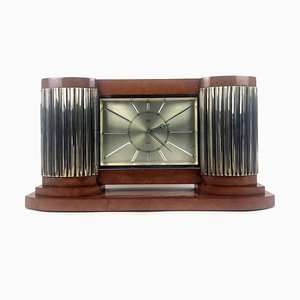 Art Deco Clock from Mautre, 1950s