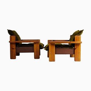Czech Club Chairs, 1970s, Set of 2