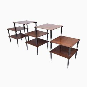 Table Basse Modèle T8 en Noyer par Vico Magistretti pour Azucena, Italie, 1954