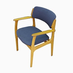 Vintage Danish Armchair by Erik Buch, 1960s