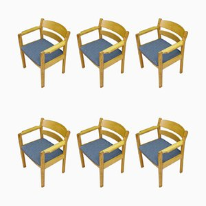 Dining Chairs by Kurt Østervig for FDB, 1960s, Set of 6