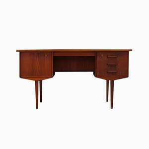 Vintage Scandinavian Teak Writing Desk, 1960s