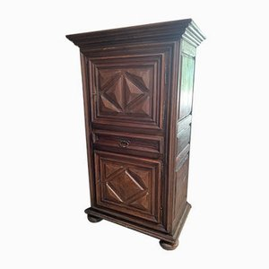 Antique Louis XIII Oak Wardrobe