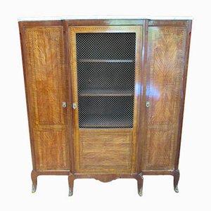 3-Door Library Cabinet, 1940s
