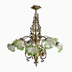 Antique Elizabethan Ceiling Lamp