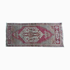 Small Turkish Distressed Rug, 1970s