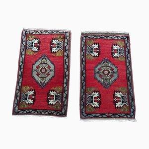 Türkische Vintage Oushak Teppiche, 1970er, 2er Set