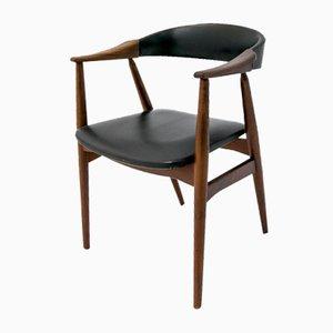 Mid-Century Scandinavian Desk Armchair from Farstrup Møbler