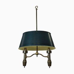 Antique French Kettle Pendant Lamp