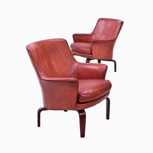 Pilot Armchairs by Arne Norell, 1970s, Set of 2