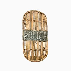 Vintage Indian Bamboo Police Riot Shield